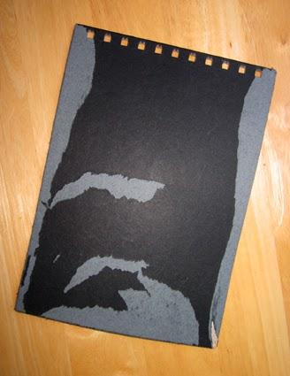 Libreta forrada con tela