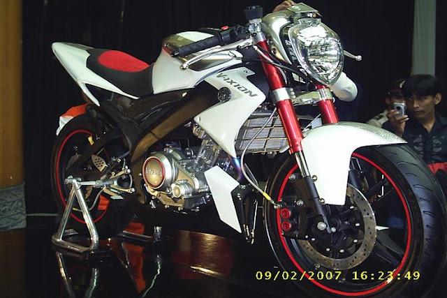 Bengkel Modifikasi Yamaha New Vixion