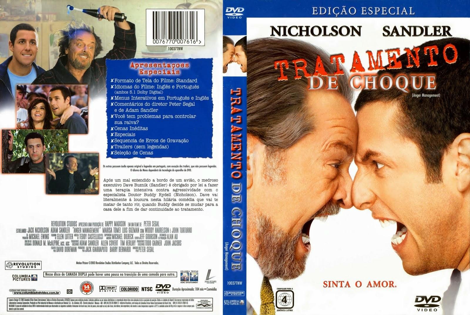 Tratamento De Choque DVD Capa
