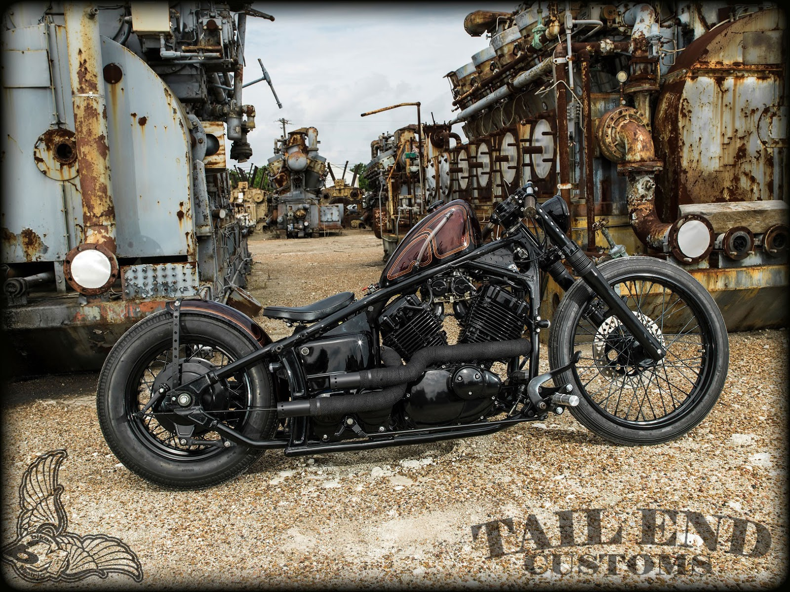 yamaha v star 650 by tail end customs bikermetric. Black Bedroom Furniture Sets. Home Design Ideas