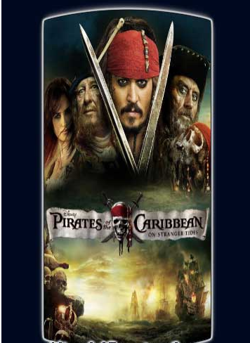 Pirates of the Caribbean 4 (2011) Dual Audio 480P 375MB Movie free Download