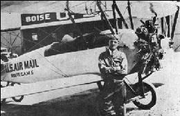 1st US Airmail drop In Pasco - 1926