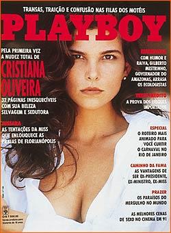 Cristiana Oliveira - Playboy 1992