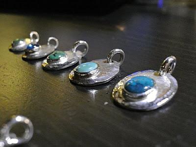 legend silver pendant