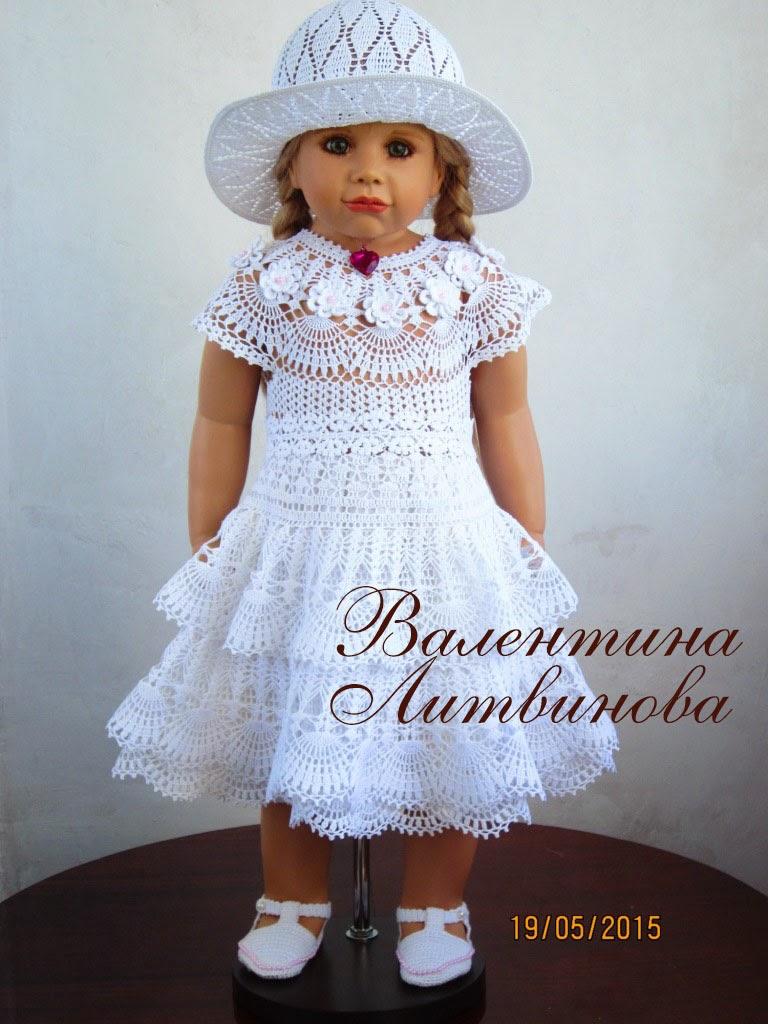 Валентина литвинова вязание крючком детям