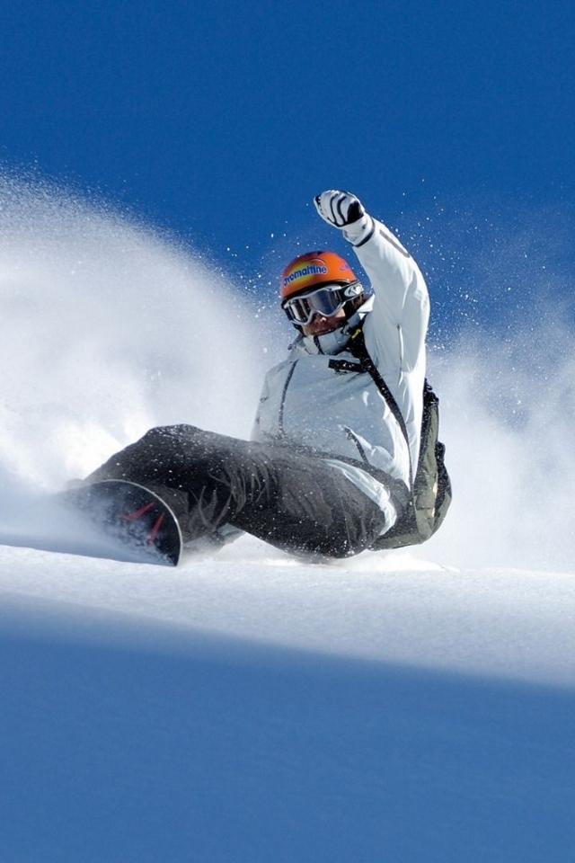Snowboarding wallpaper iphone