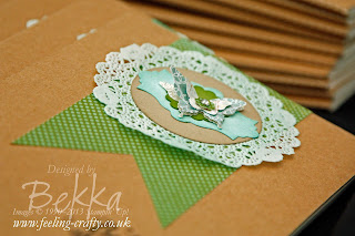 Detail of Epic Day / Feel Goods Notebook for her team by Stampin' Up! Demonstrator Bekka Prideaux
