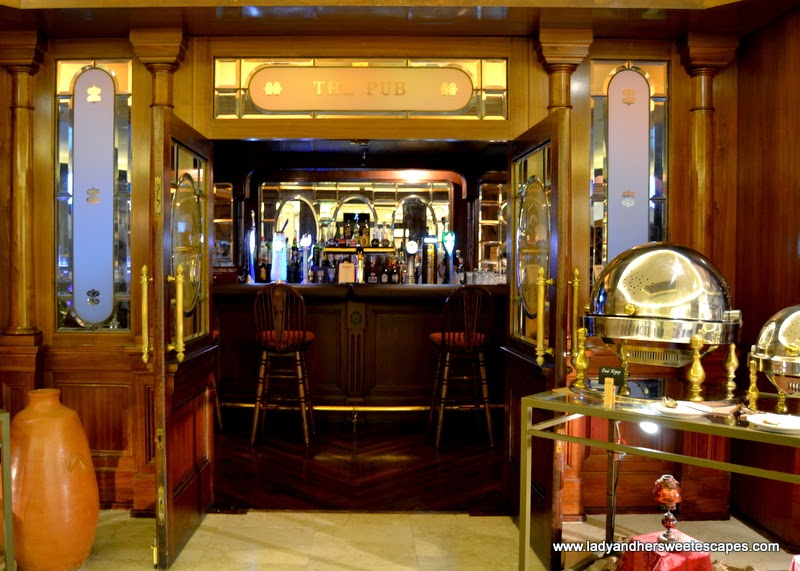 The Pub British restaurant at Radisson Blu Dubai