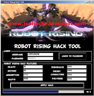 Robot rising cheat hack tool trainer 100 working for Motor wars 2 hacked