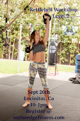 KETTLEBELL Workshop with LAUREN BROOKS