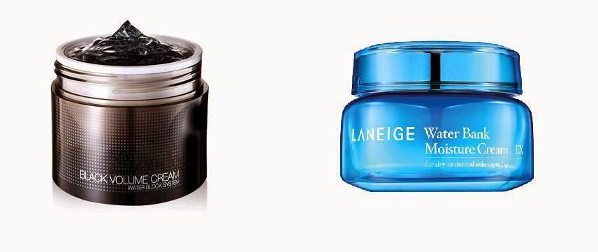 Neozen Code 9 Black Volume Cream & Laneige Water Bank EX Cream