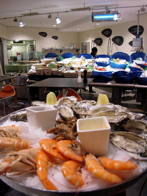 Lafayette seafood platter
