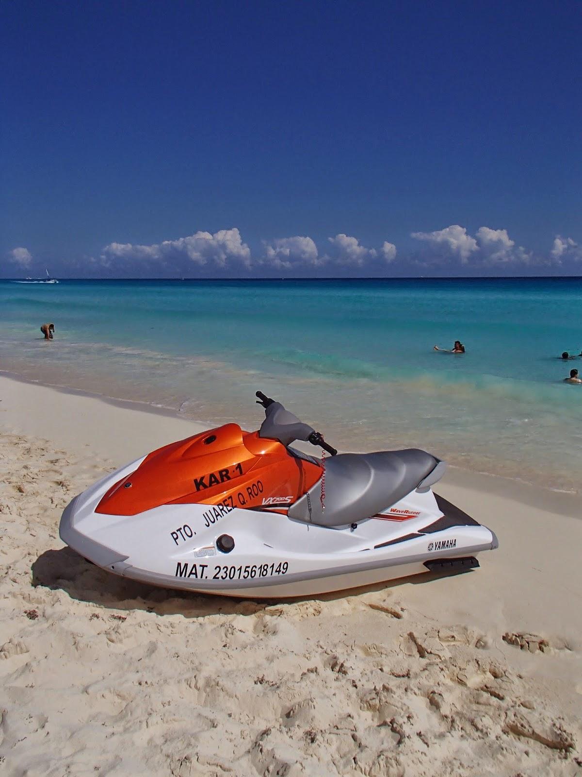 Cancun waverunner