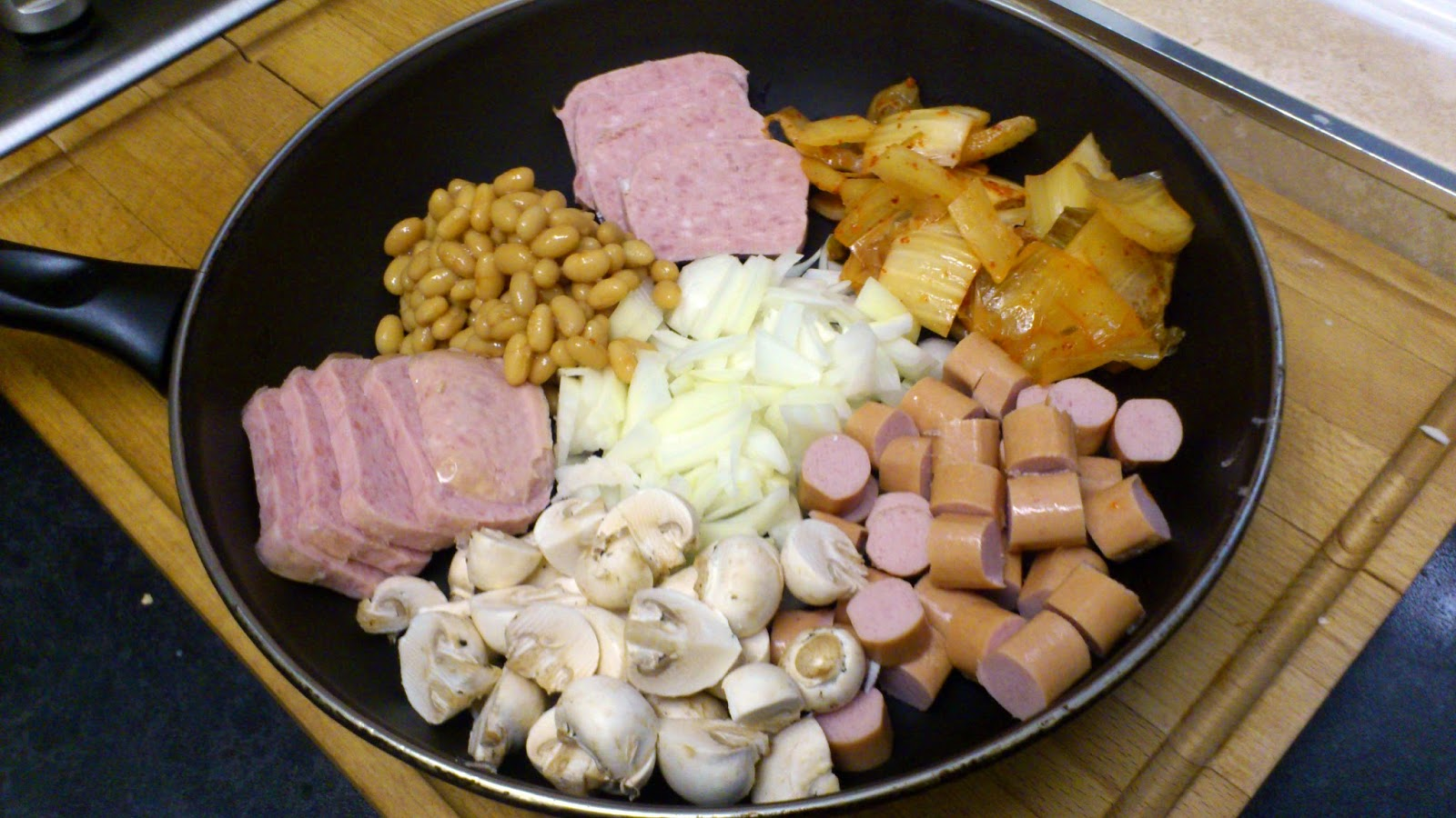 Hot Dog Stew Korean