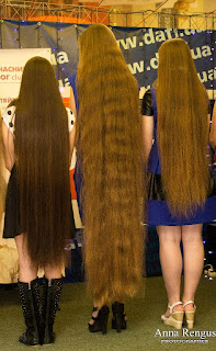 Pictures of long hair contest