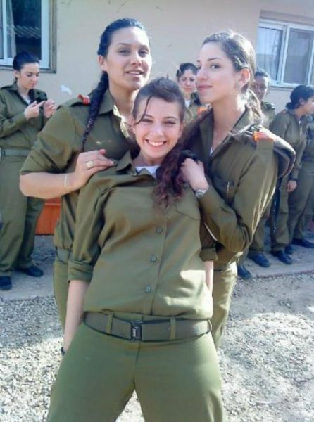 Great Pictures: Beautiful Girls of The Israeli Army - Part 3