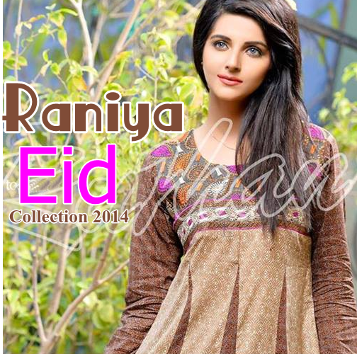 Raniya Eid Collection 2014