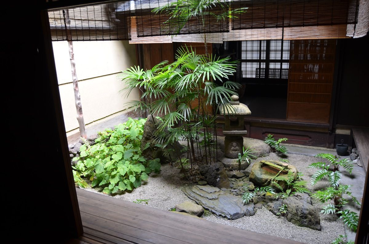 A Tiny Courtyard Garden In An Old Kyoto House. The Simple Planning Of Such  Tiny Spaces Is Perhaps The Japanese Garden Traditionu0027s Greatest  Contribution To ...