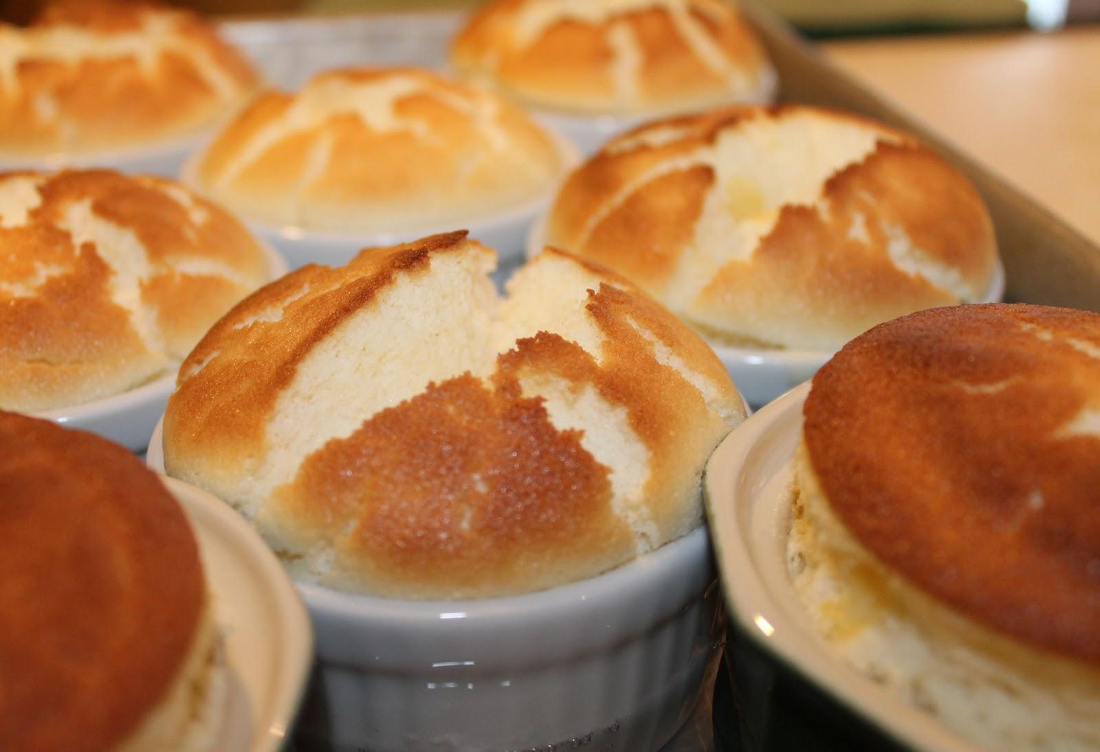 Lemon Pudding Cakes In Ramekins