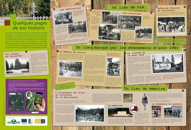 ONF Resistance Panneau Histoire