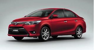 Spesifikasi All New Toyota Vios Terbaru 2015