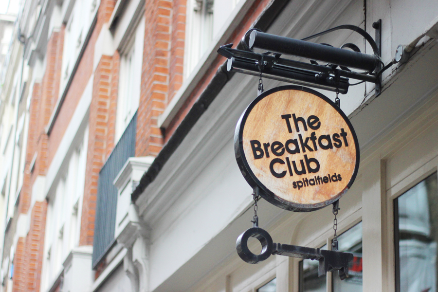 The Breakfast Club, Spitalfields London