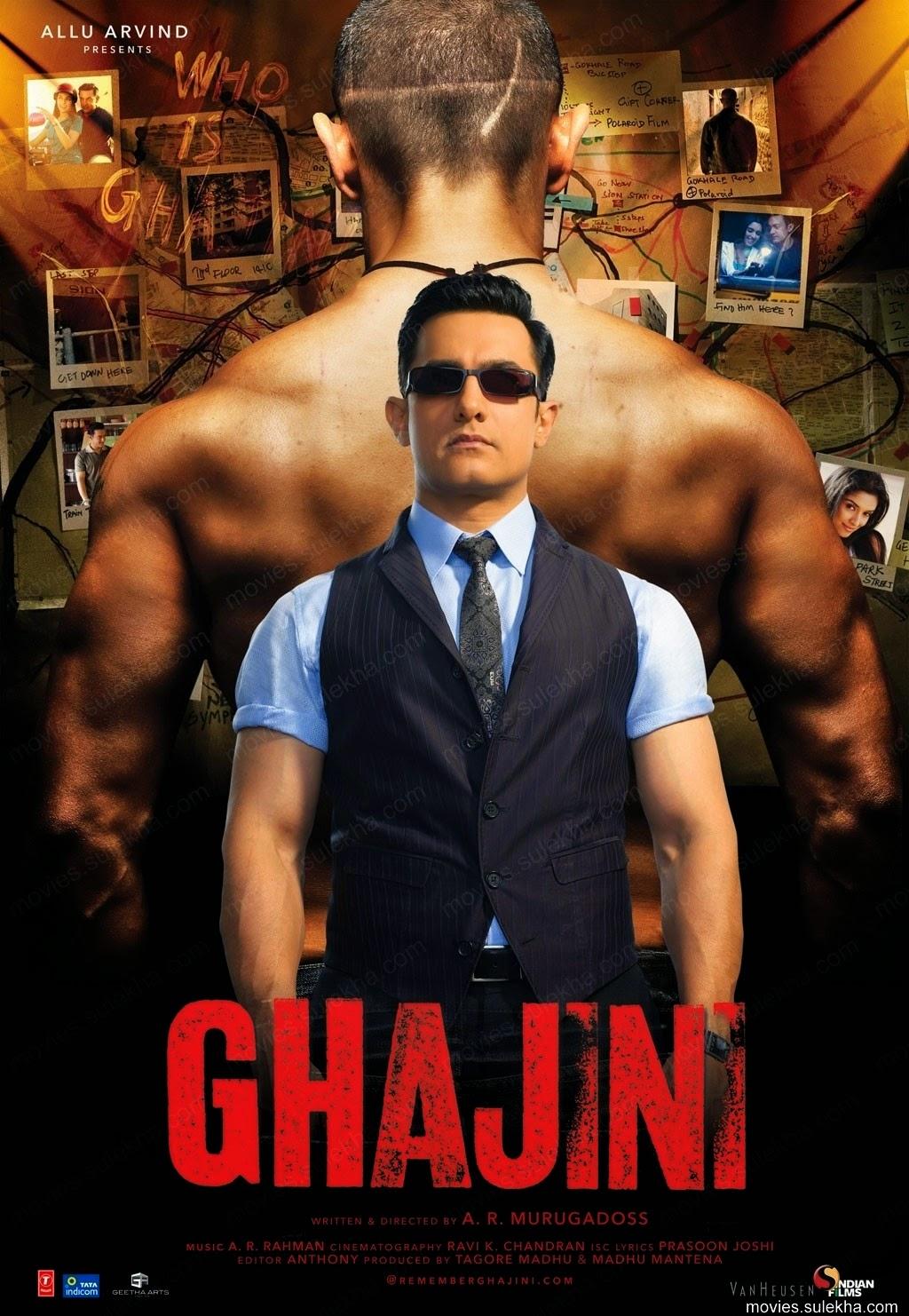 Ghajini Aamir Khan 2015 Film Izle Yeni Full Hd Türkçe Tek Parça
