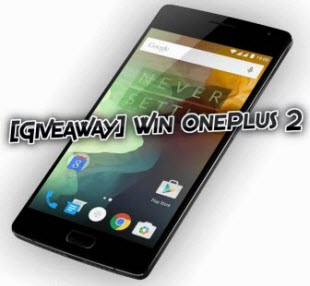 OnePlus 2 Giveaway