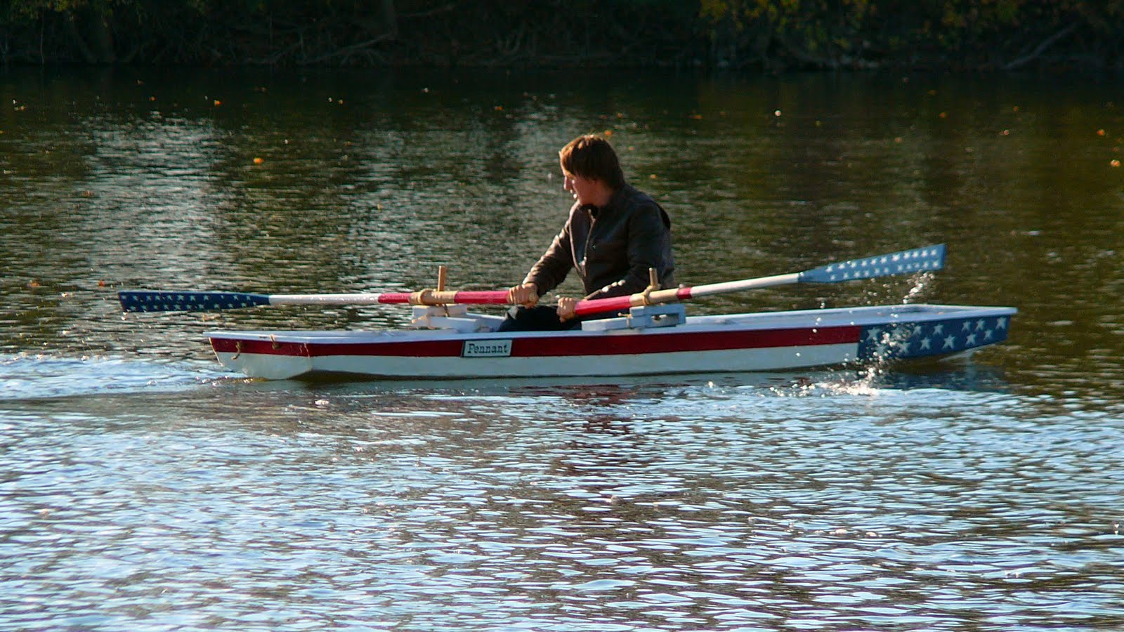 ROWING FOR PLEASURE: Oar length