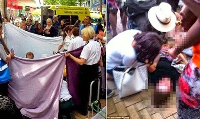 Wanita Gila Bershopping Sampai Terberanak Di Komplek Membeli Belah