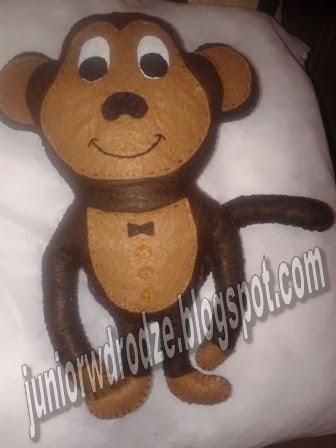 Maskotka z filcu - Małpa