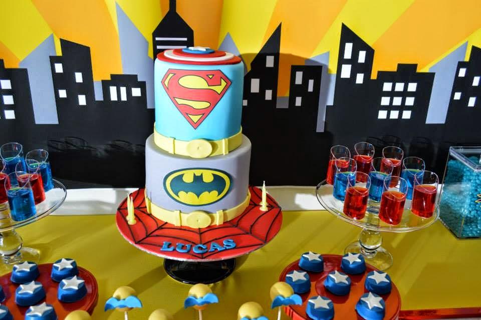 Superhero Party Little Wish Parties