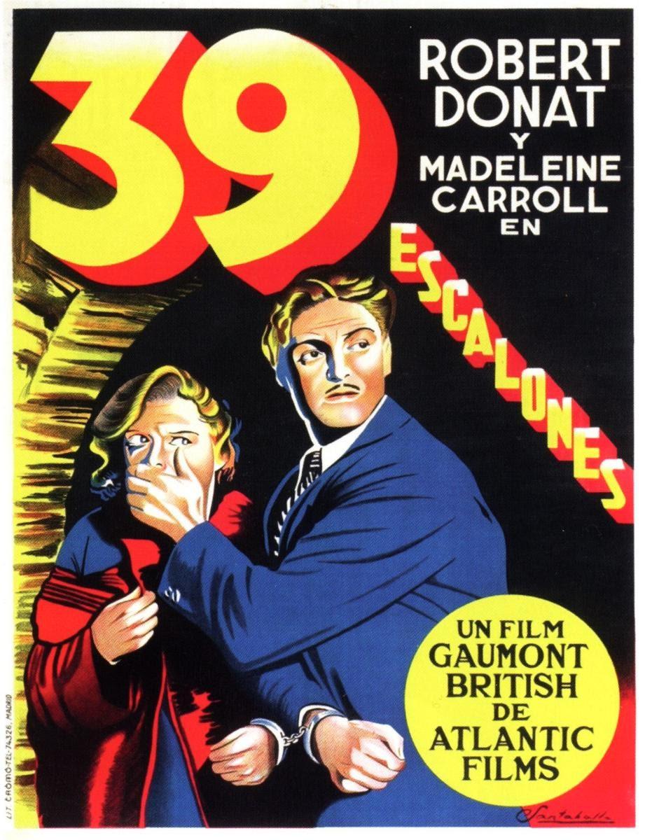 Ver película : 39 Escalones, 1935 (A. Hitchcock)