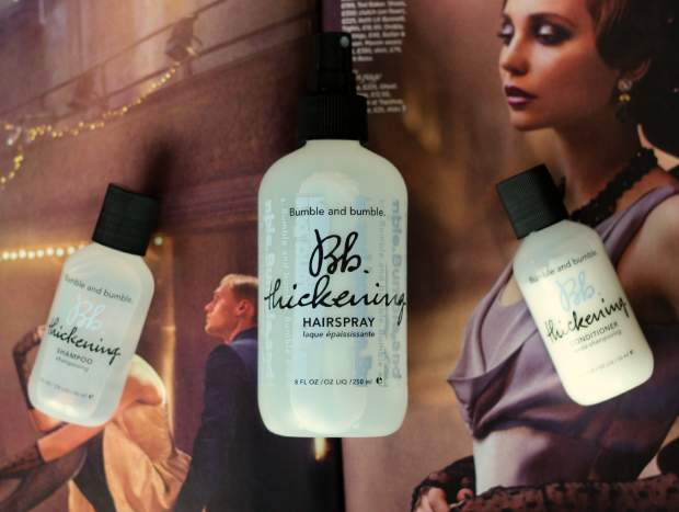 bumble and bumble, b&B, thickening, shampoo, conditioner, hairspray, make it big, gift set, present, hair, haircare luxury,