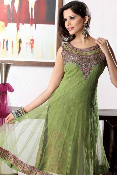 Stand Neck Blouse Designs : Latest fashion salwar kameez brocade