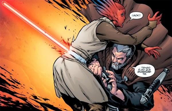 EL Conde Dooky en el cómic Darth Maul: Hijo de Dathomir