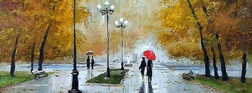 Couverture facebook pluie de novembre