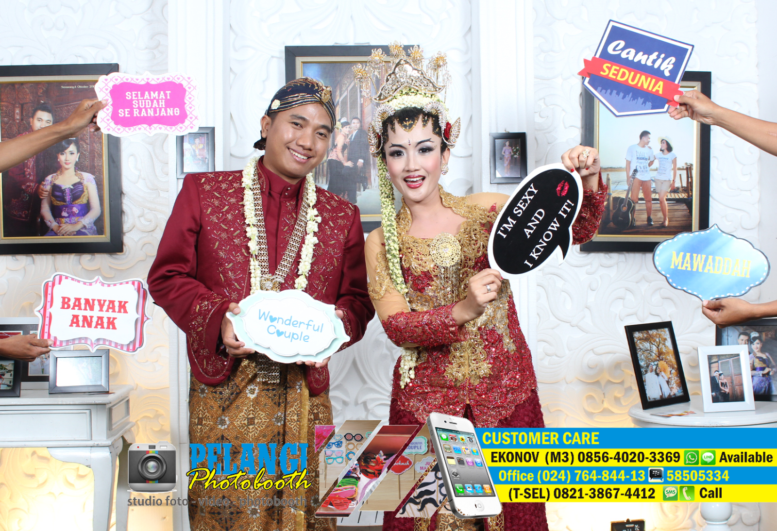 jasa photo booth semarang / wedding photografi unik