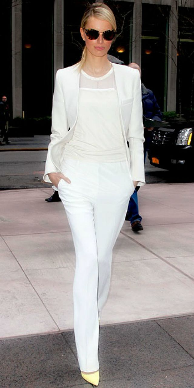 trends How To Wear All White TheFashioniStyle