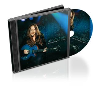 Download CD Ana Carolina Ensaio de Cores Ao Vivo 2011