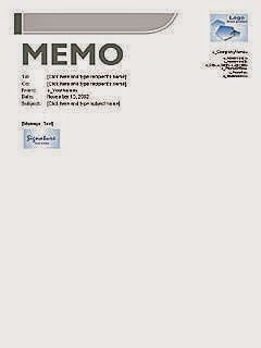 7 Memos templates for business in Word