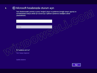Windows 8.1 Kurulum
