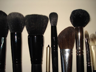 makeup picnic my makeup brushes  homemade brush roll