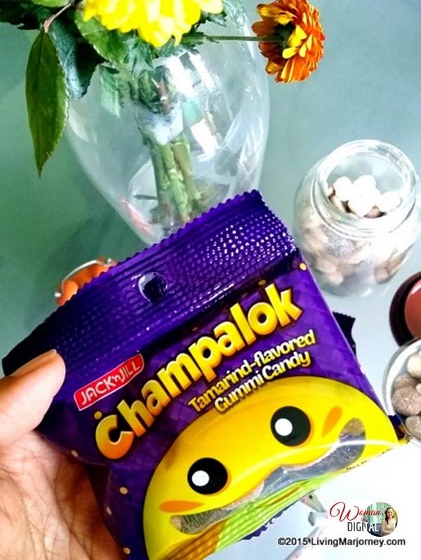 Jack 'N Jill Champalok Tamarin Flavored Gummy Candy