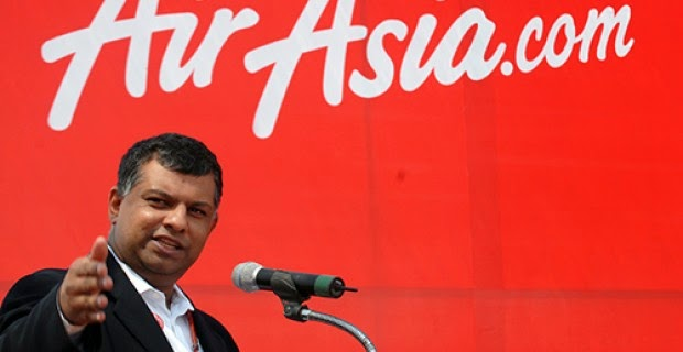 AirAsia CEO Dumped 944,800 Shares Days Before Flight Disappeared