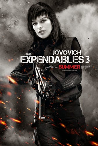 Milla Jovovich The Expendables 3