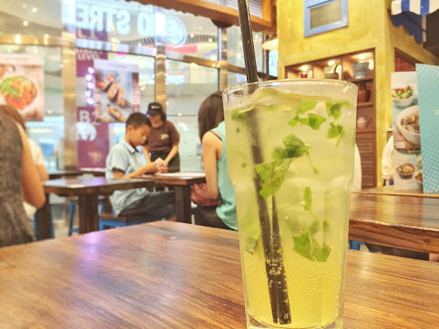 Pho Street - Passionfruit and Basil Mojito