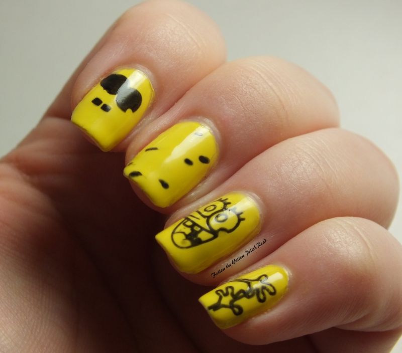 Follow The Yellow Polish Road Spongebob Born Pretty Stamping Plate