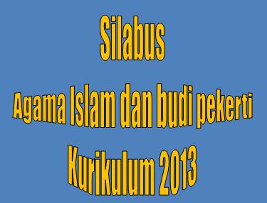 Silabus Pendidikan Agama Islam Dan Budi Pekerti Kelas X Sma Smk Kurikulum 2013 The Bali Buzz