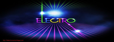 Couverture pour facebook electro